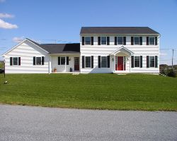 Custom Home Old Post Road Farms