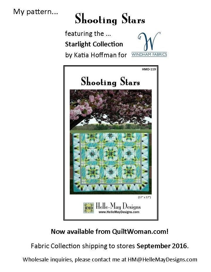 Shooting Stars by Helle-May Designs