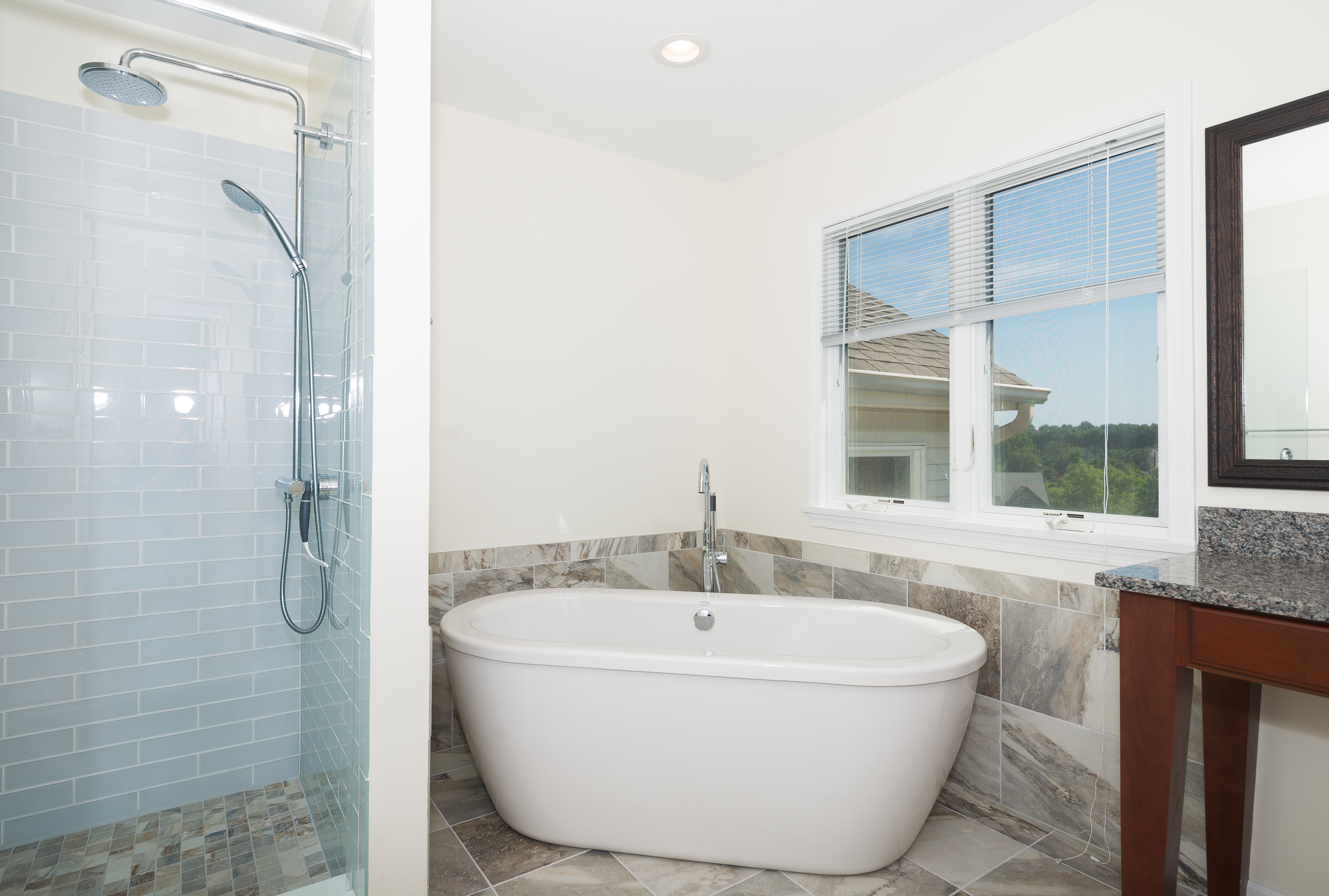 Beautiful master bathroom msi plumbing remodeling for Plumbing remodeling