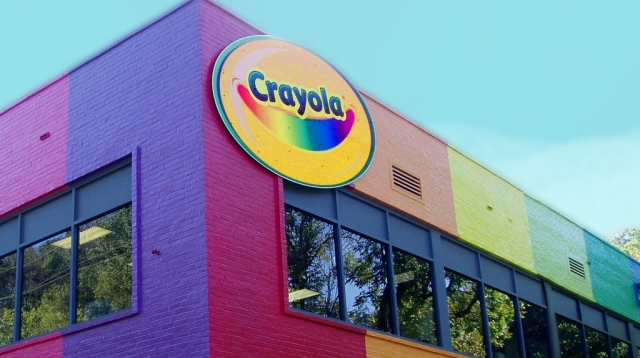 Crayola Factory Valley Wide Signs Amp Graphics