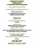 TUESDAY MARCH 24th SPECIALS