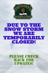 SHERIDAN'S IS TEMPORARILY CLOSED!