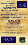 Tuesday June 2nd Specials