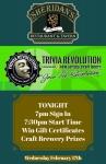 TRIVIA REVOLUTION LIVE TONIGHT !!