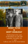 DENNY & GEOFF PERFORMING THIS SATURDAY AT SHERIDAN'S