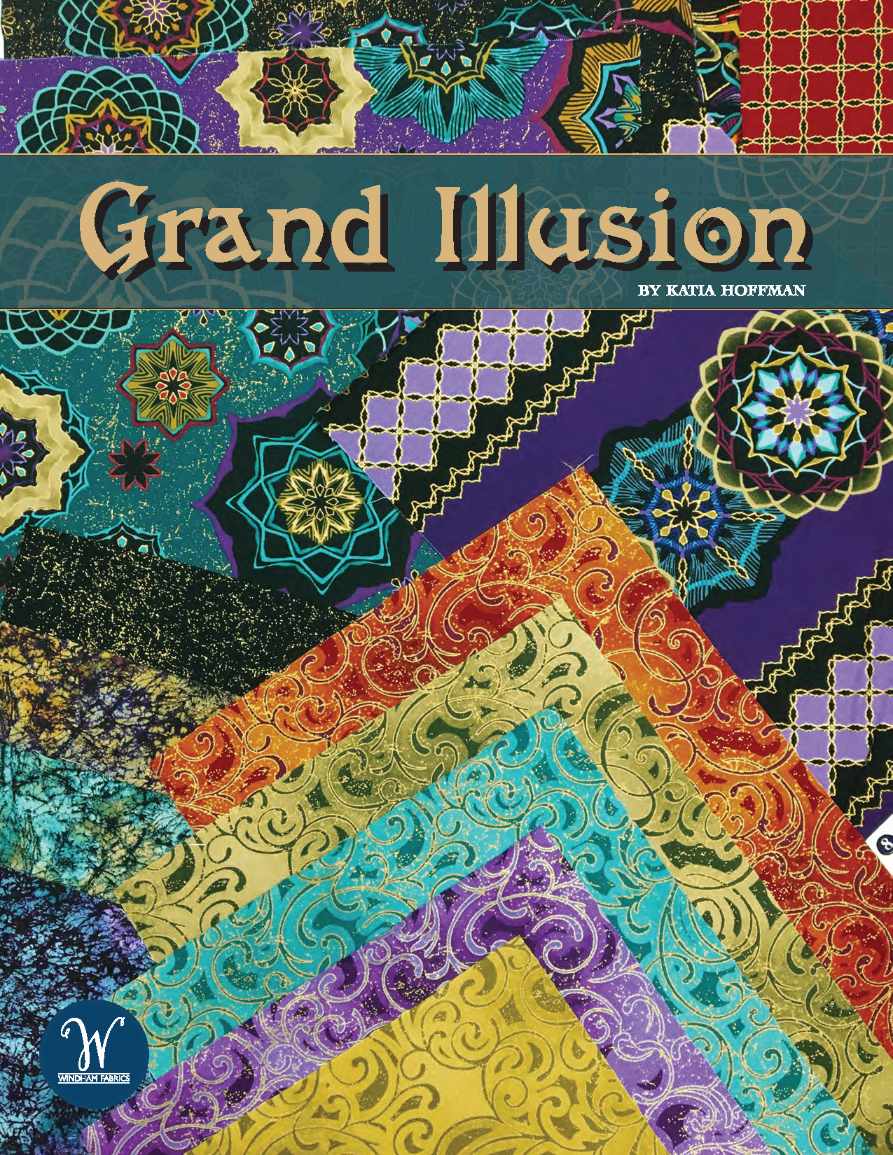 Grand Illusion Collection by Katia Hoffman for Windham Fabrics