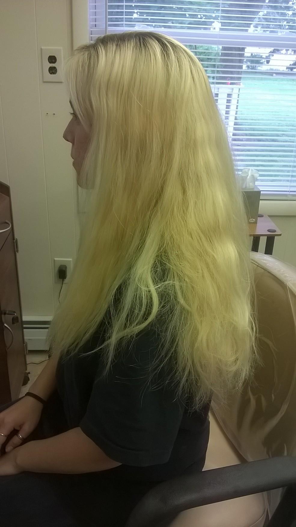blond transformation