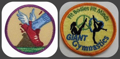 Girl Scouts can earn patches!