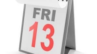 It's March 13th and a Friday.