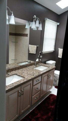Interested In A New Master Bath What About A Main Bathroom Facelift - Bathroom facelift