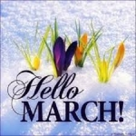 March On....