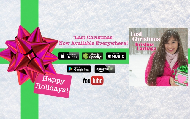 follow kristinalachaga on snapchat instagram facebook twitter and youtube to get the daily scoop on all things the girl with the big pink heart d - Last Christmas Youtube