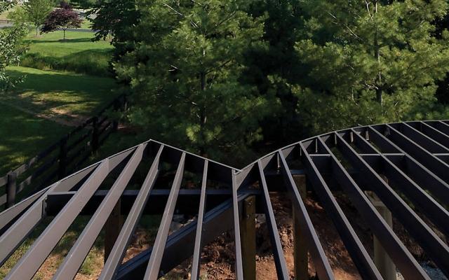 Trex Elevations Steel Deck Framing | Fox Lumber