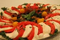 Mozzarella Caprese Platter