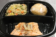 Heart Healthy Dill Poached Salmon, & Vegetable Quinoa