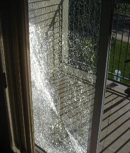 Beau What About That Broken Patio Door Glass?
