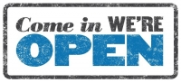 We Are Open Today February 17th, 2015