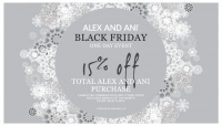 Alex and Ani Black Friday Sale!!!