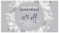 Alex and Ani Black Friday Sale!!!