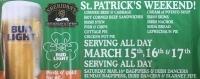ST. PATRICK'S WEEKEND AT SHERIDAN'S