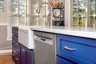 Blue island kitchen