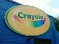 crayola rd custom sign
