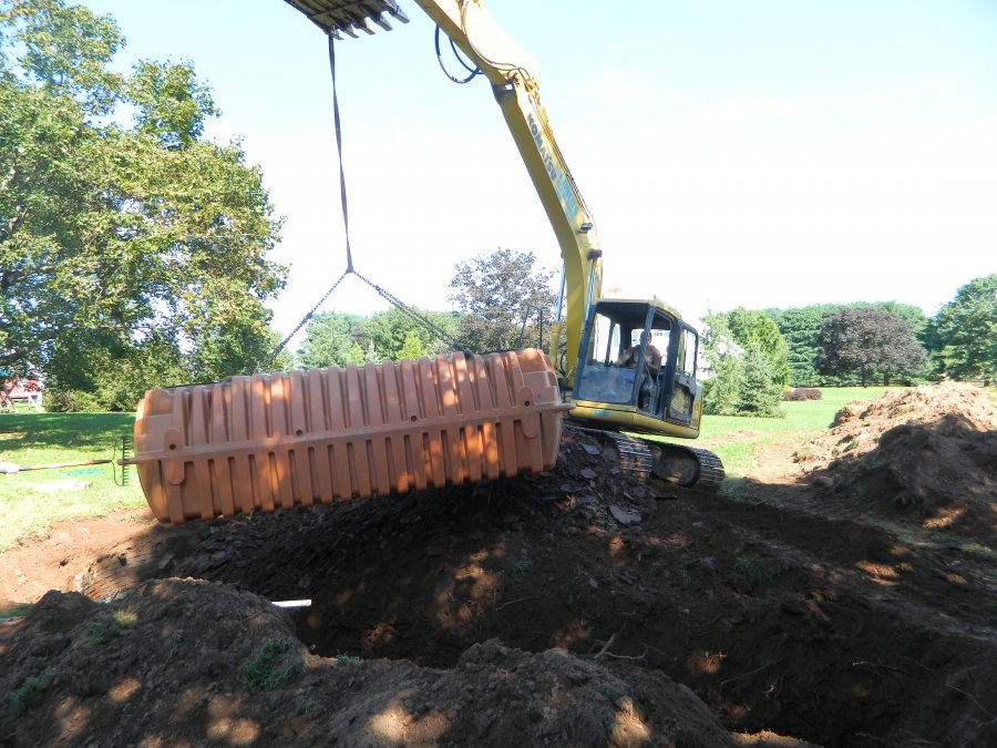 peat moss septic system
