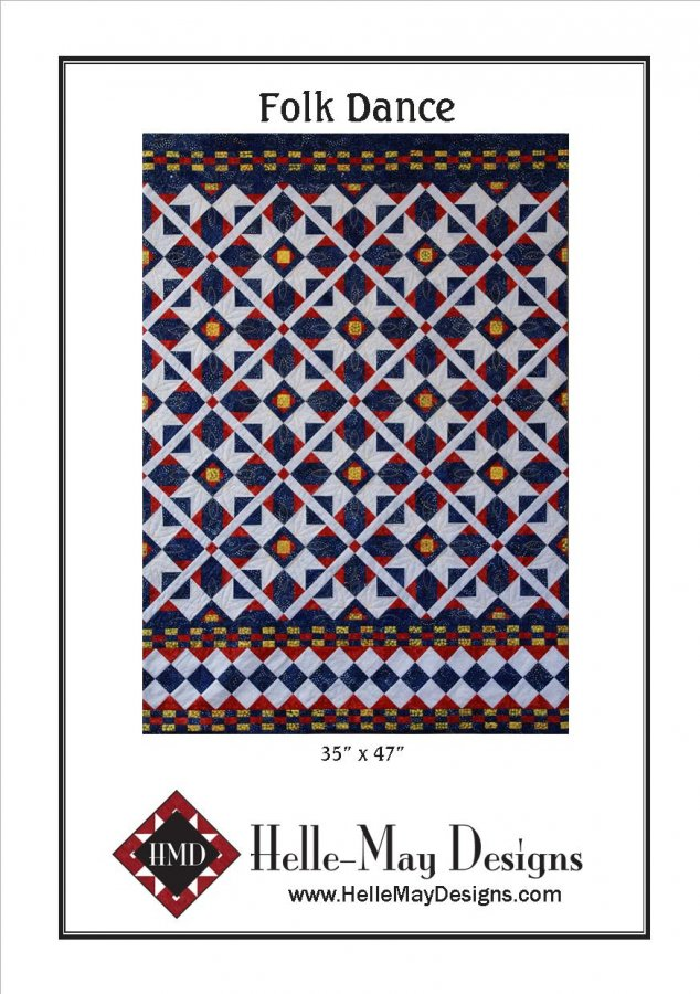 Helle-May Designs Folk Dance Quilt Pattern