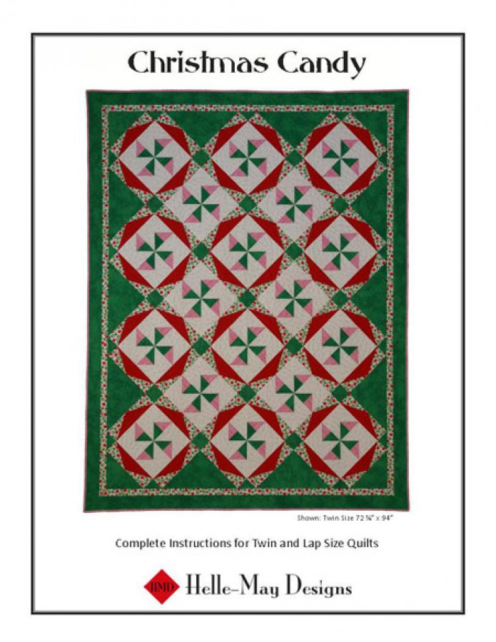 Helle-May Designs Christmas Candy Quilt Pattern