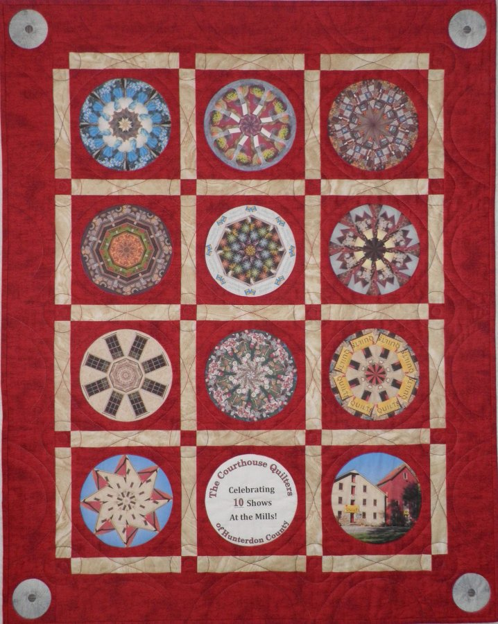 Quilt Show Kaleidoscope by Helle-May Cheney