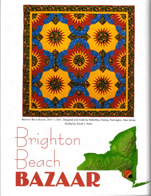 Brighton Beach Bazaar by Helle-May Cheney