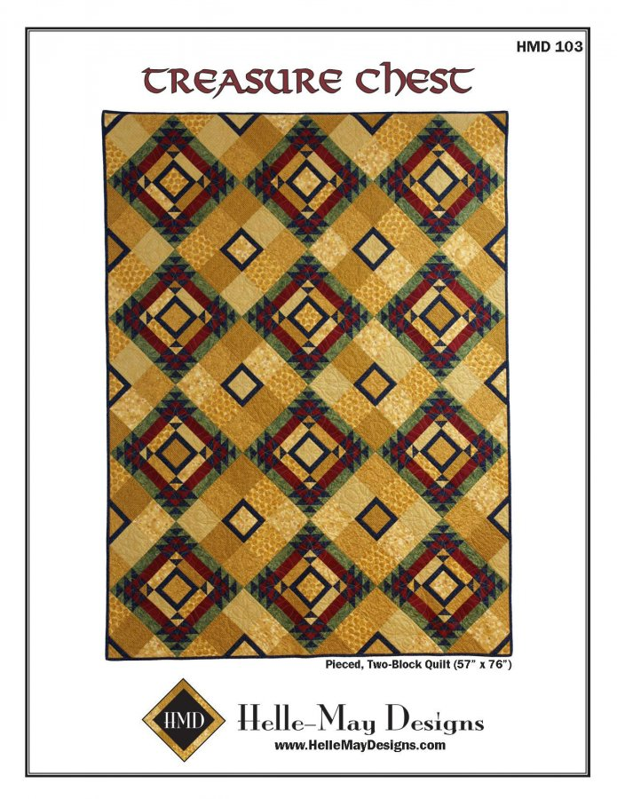 Helle-May Designs Treasure Chest QUilt Pattern