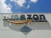 Amazon, Channel Letter Sign, Building Sign, Amazon Fulfillment, Valley Wide Signs, Raceway Signs, Allentown Sign