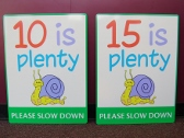Traffic Signs, Custom Traffic Signs, Crayola Signs, Valley Wide Signs