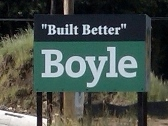 Boyle Construction, Site Sign, Valley Wide Signs