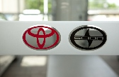Window Lettering, Etched Vinyl Lettering, Toyota Signs, Scion Signs, Toyota Logo, Valley Wide Signs, Signs for Toyota