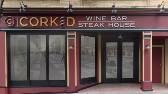 Corked Restaurant, Bethlehem Restaurant, Winebar, Steakhouse, Valley Wide Signs, Dimensional Letters, Custom Logo Sign