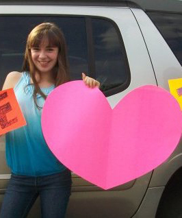 Kristina Lachaga The Girl With The Big Pink Heart