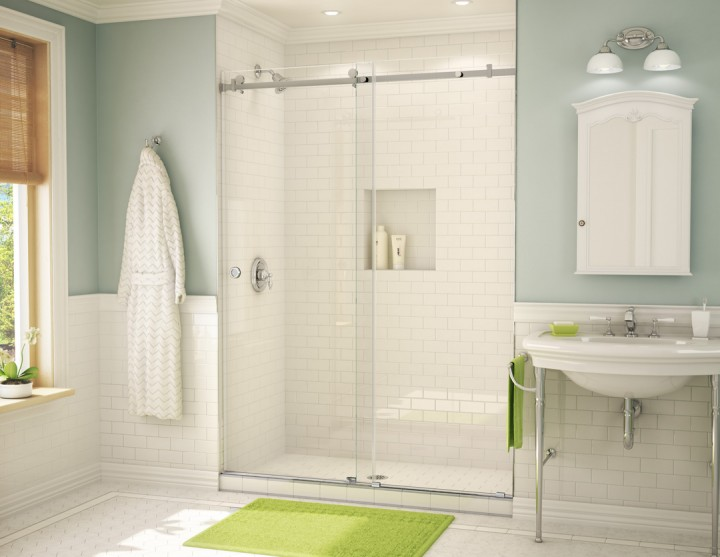 Custom shower door, lehigh valley, allentown, glass, pennsylvania