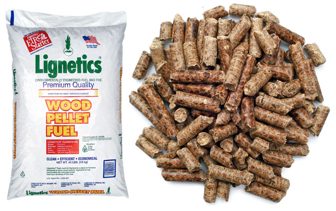 Wood pellet fuel fox lumber