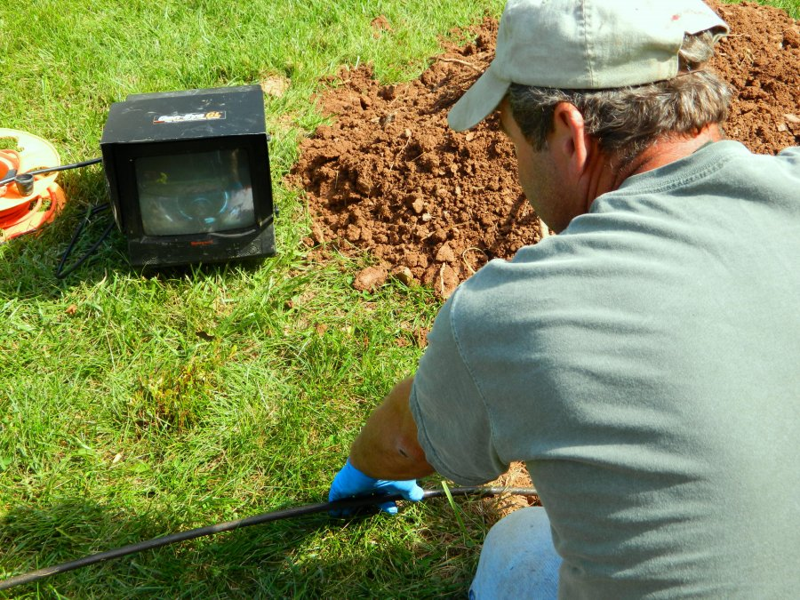 camera septic inspection