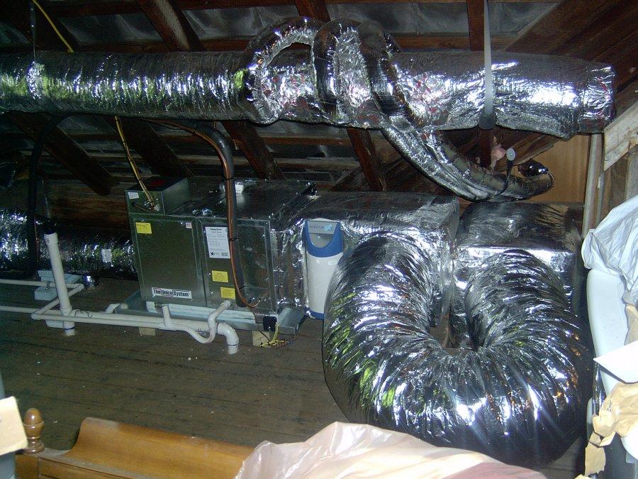 High Velocity Mini Duct A/C | The Tin Man, LLC