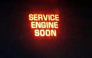 service engine soon light is on