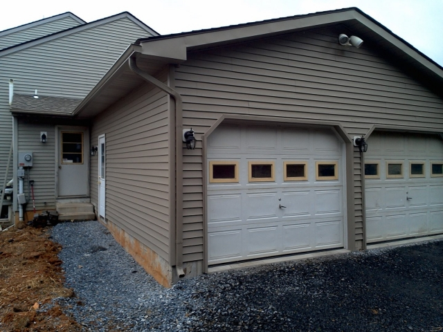 Garage Addition In Schnecksville Lehigh Valley Laub