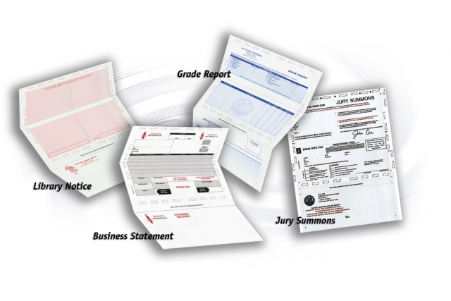 Pressure Seal Checks Forms Total Mailing Solutions Inc