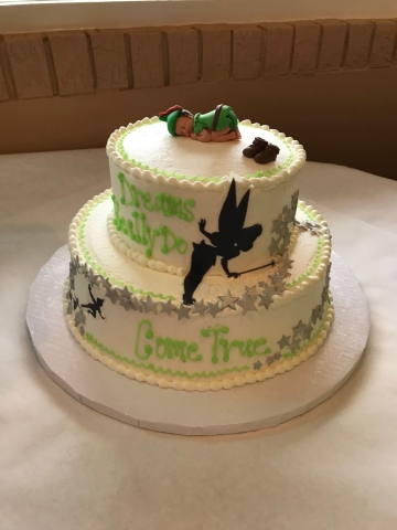 Surprising Peter Pan Themed Showing Customer Supplied Topper Personalised Birthday Cards Beptaeletsinfo