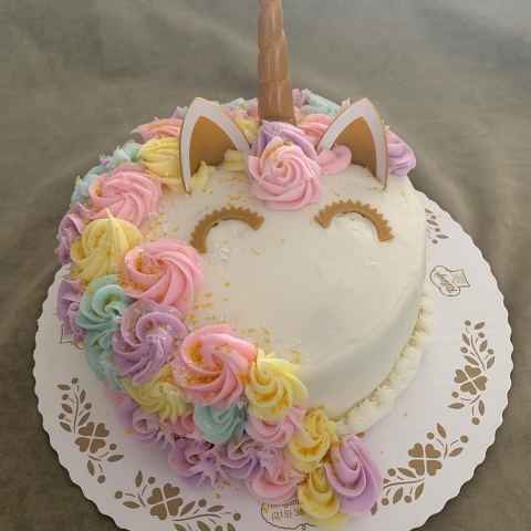 Enjoyable Unicorn Cake Kit Birthday Cards Printable Trancafe Filternl