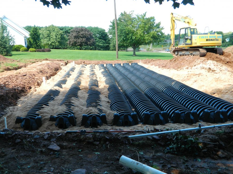 Installation Of Alternative Peat Moss No Mound Systems