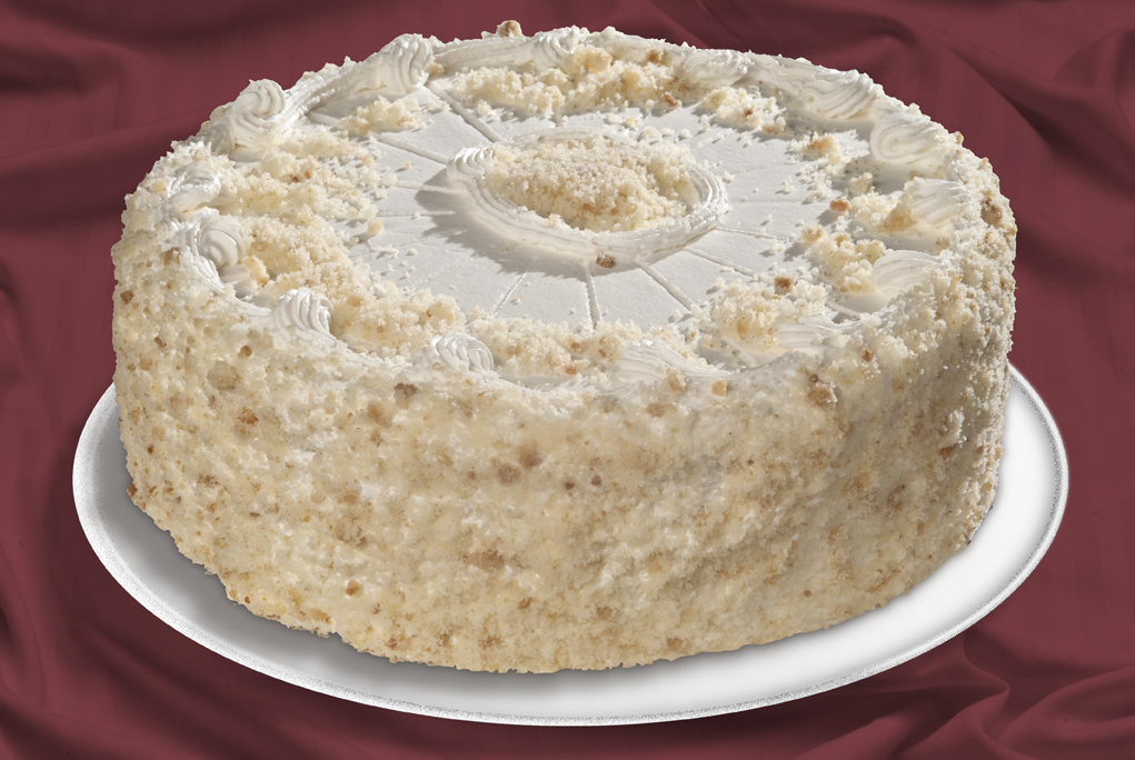 Vanill Cake With Lemon Filling Layer